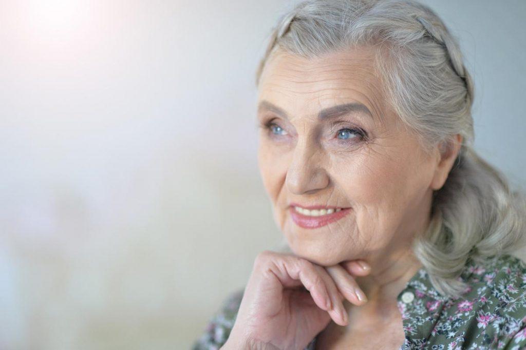 Sterling Court at Roseville | Senior woman smiling