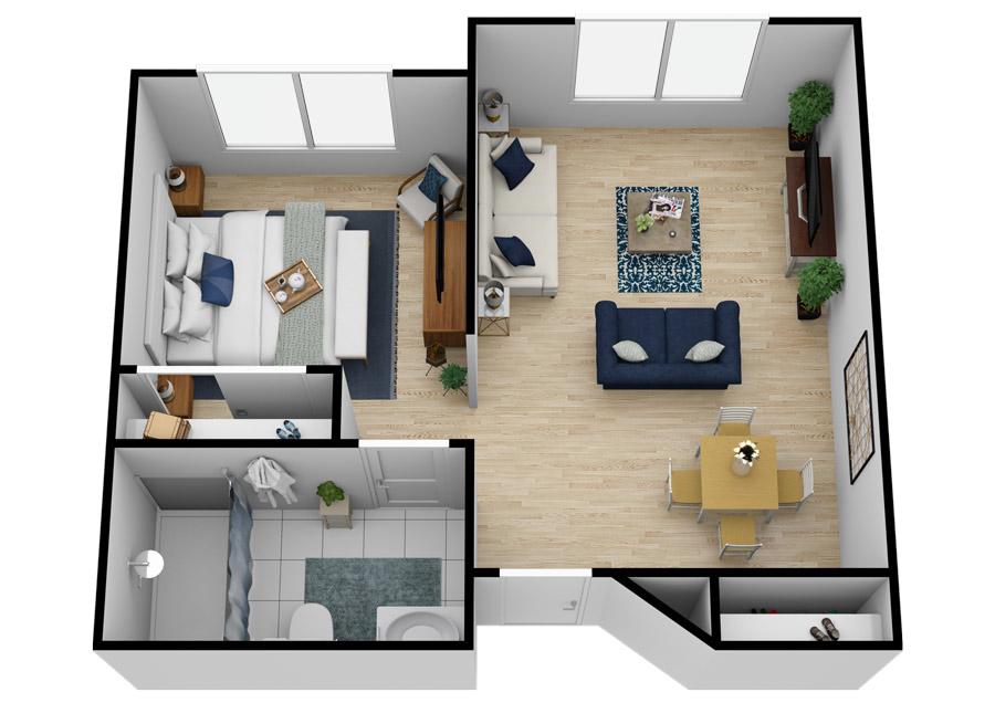 Sterling Court at Roseville | One Bedroom