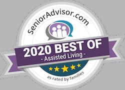 Pegasus Senior Living | 2020 Best of Assisted Living Badge