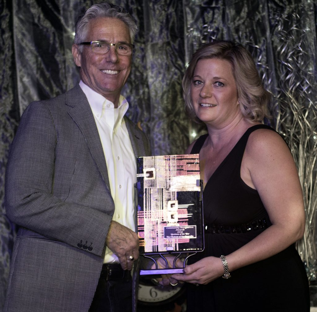 The Chateau at Gardnerville receives the Business of the Year award in 2019 from the Carson Valley Chamber of Commerce