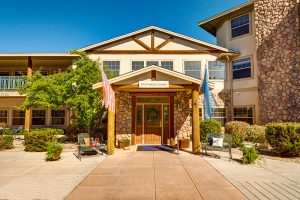 The Chateau at Gardnerville | Outdoor Entrance