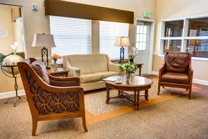 The Chateau at Gardnerville | Living Room