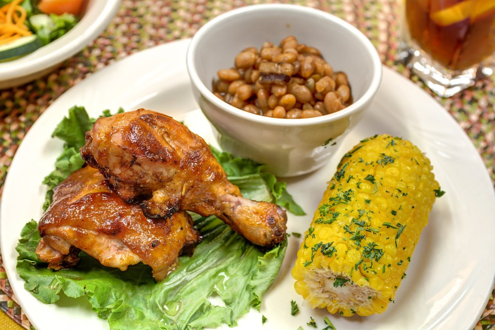 The Courtyards at Mountain View | Chicken, beans, and corn