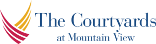The Courtyards at Mountain View | Logo