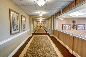 The Courtyards at Mountain View | Hallway