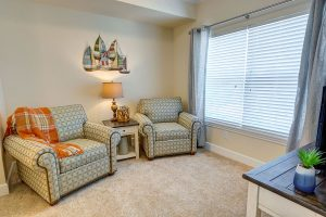 The Courtyards at Mountain View | Living Room