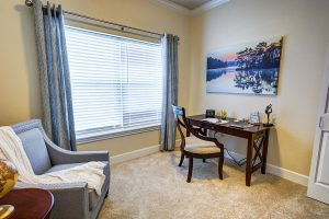 The Courtyards at Mountain View | Room with Desk and Chair