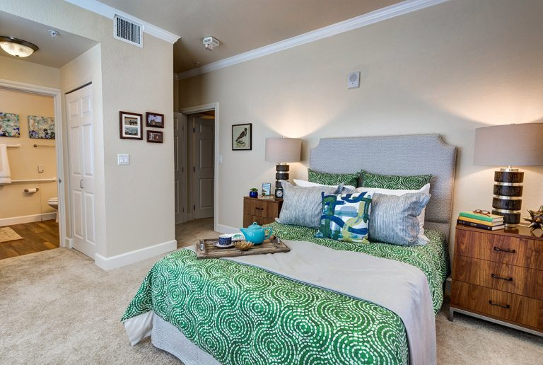 The Courtyards at Mountain View | Bedroom