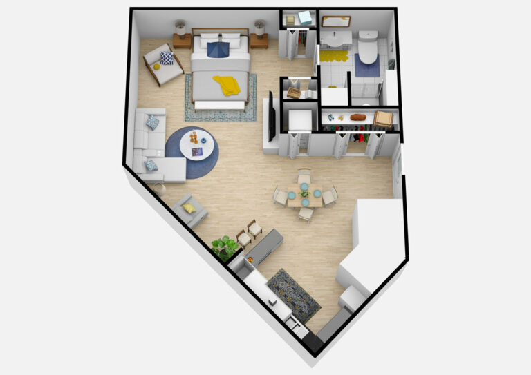 The Courtyards at Mountain View | Studio B Independent Living