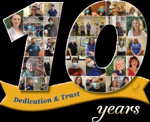 Pegasus Senior Living | 10 Years of Dedication & Trust