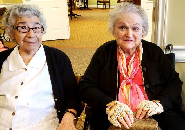 Pegasus Senior Living | Residents grinning