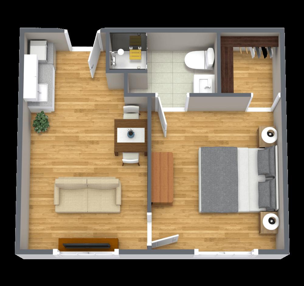 The Farrington | Deluxe One Bedroom