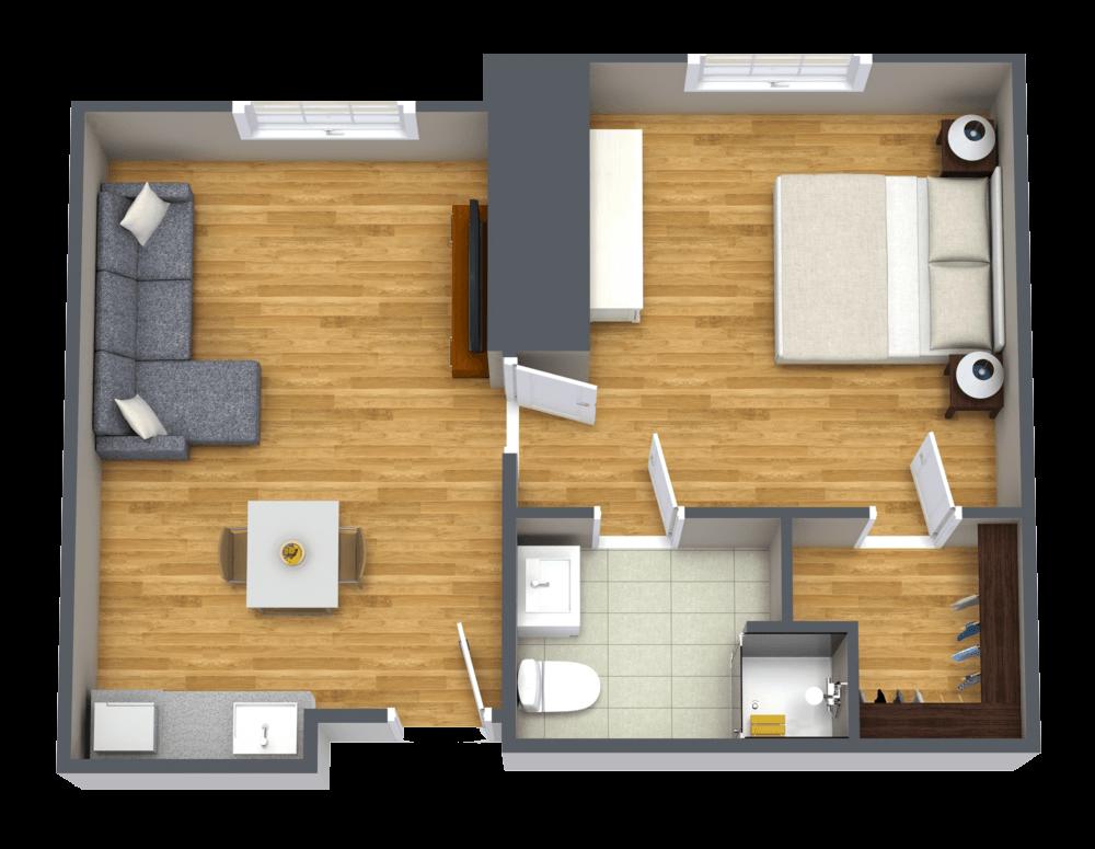 The Farrington | Grand One Bedroom
