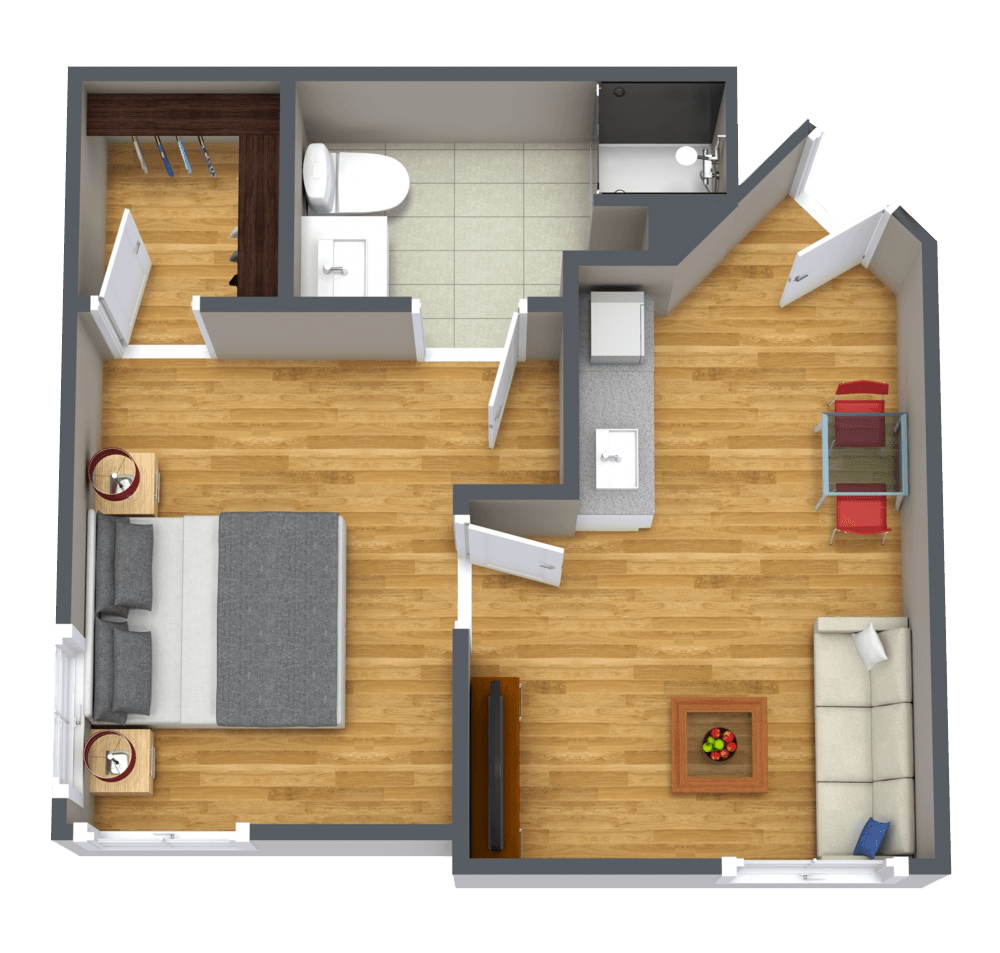 The Farrington | Large One Bedroom