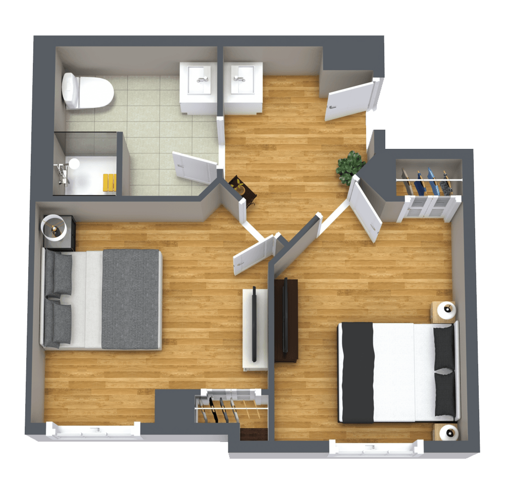 The Farrington | Large Shared Suite
