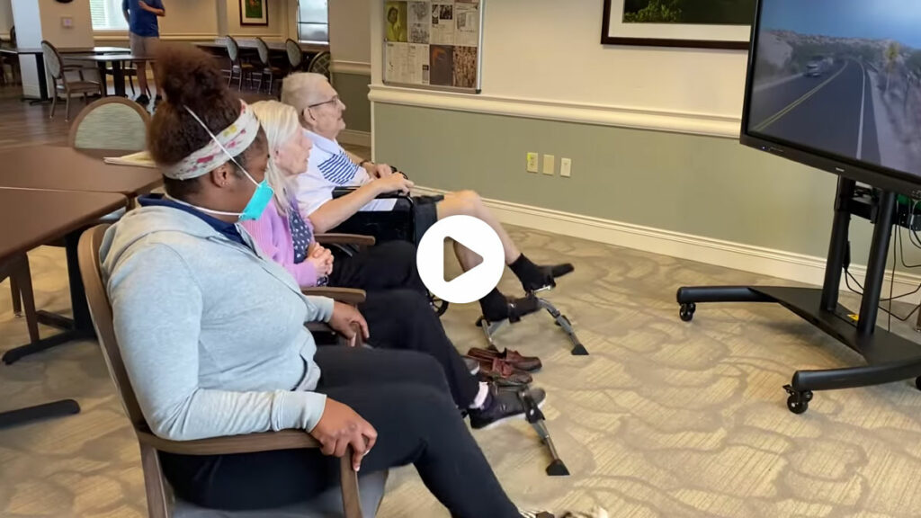 Pegasus Senior Living   Virtual bike ride