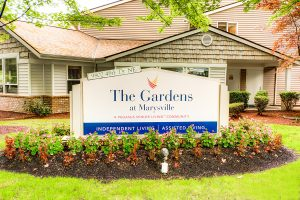 The Gardens at Marysville | Front Sign