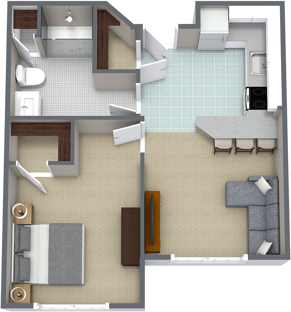 The Gardens at Marysville | One Bedroom D