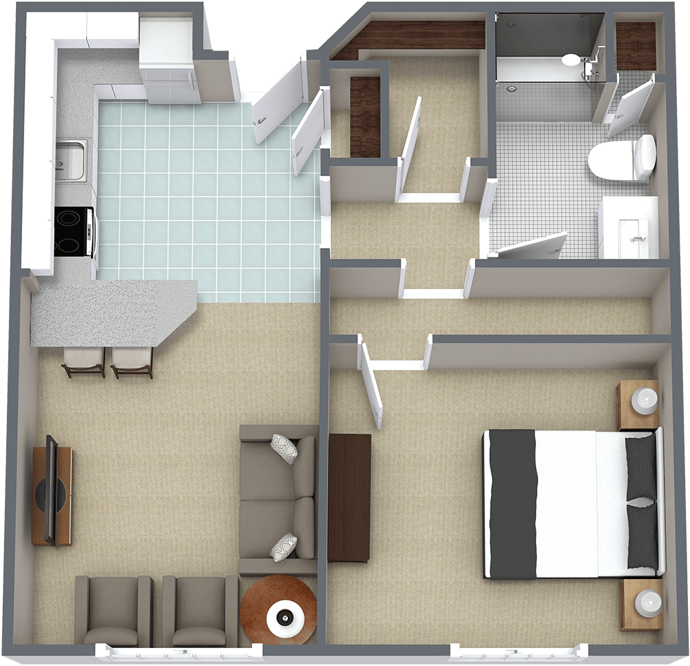 The Gardens at Marysville | One Bedroom E
