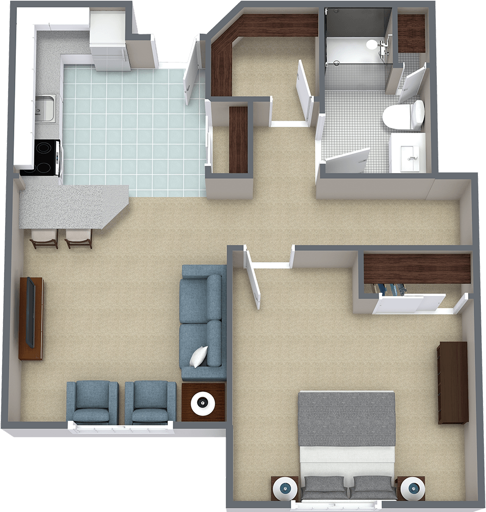 The Gardens at Marysville | One Bedroom F