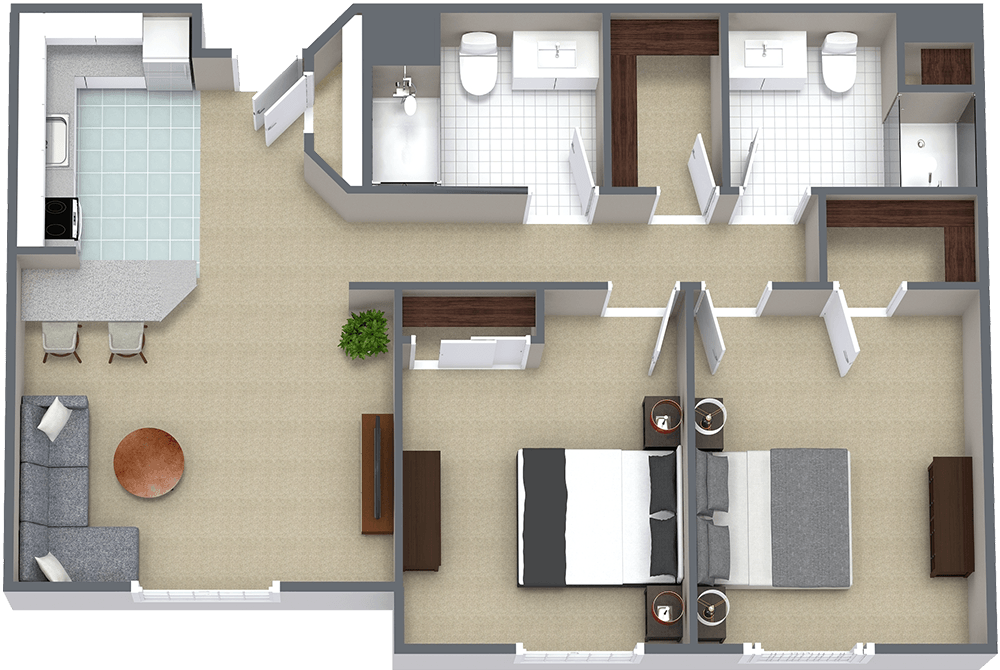 The Gardens at Marysville | Two Bedroom H