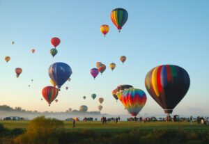 The Landing at Queensbury | Local photo of air balloons