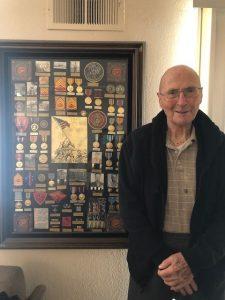 Bill White turns 104, The Oaks at Inglewood, Stockton, CA
