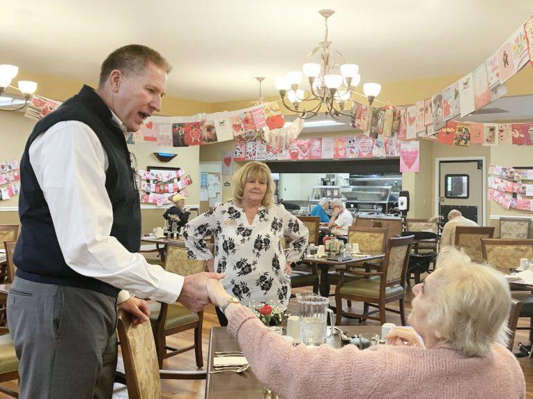 The Oaks at Inglewood | Valentine's Day celebration