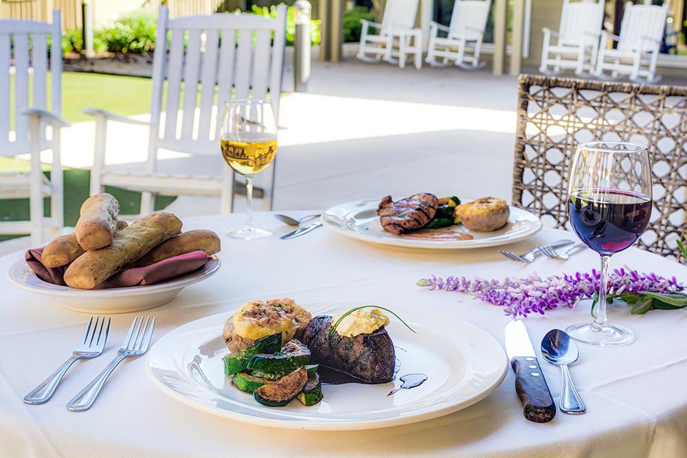 The Oaks at Inglewood   Dinner plates