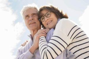 Pegasus Senior Living | Senior couple appreciating their freedom