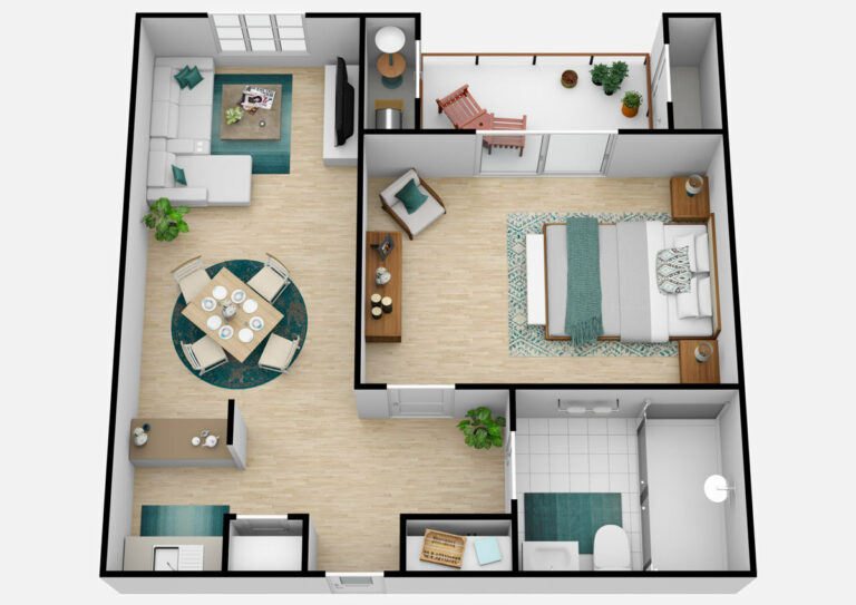 The Oaks at Inglewood | One Bedroom