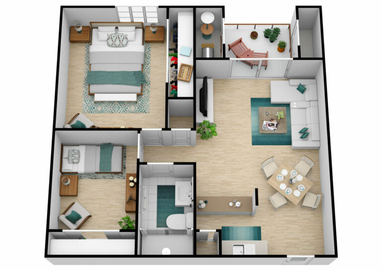 The Oaks at Inglewood | Two Bedroom