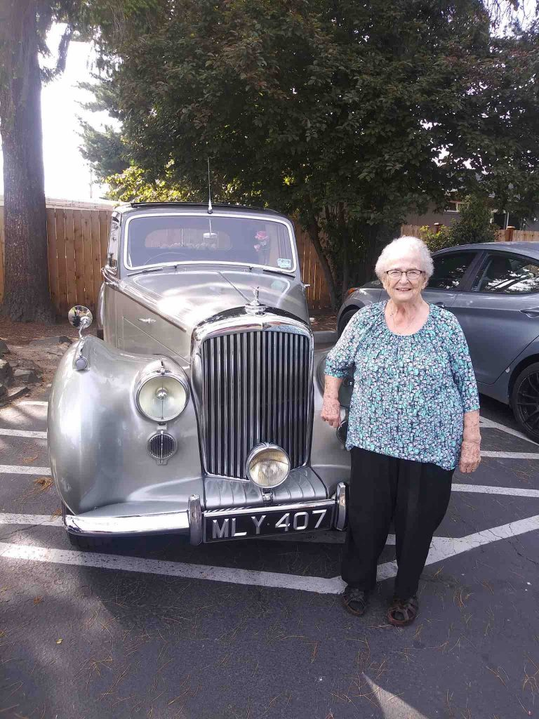 The Rivers at Puyallup | Resident near vintage car