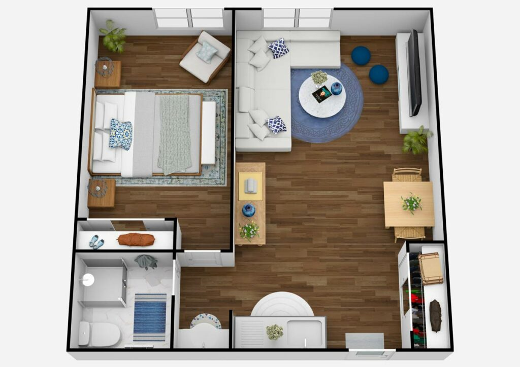 The Rivers at Puyallup   One Bedroom