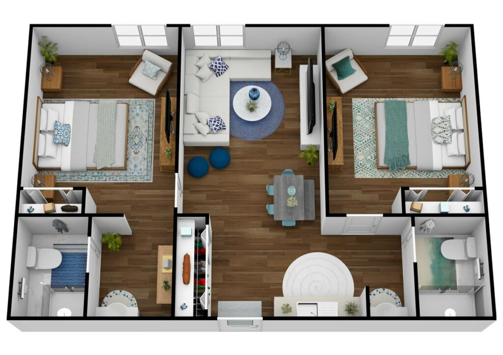 The Rivers at Puyallup   Two Bedroom