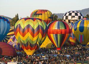 The Seasons of Reno | Local hot air balloons