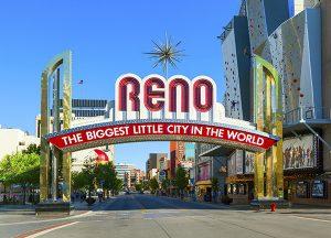 The Seasons of Reno | Local Reno sign