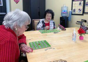 The Village at Rancho Solano | Seniors playing Bingo