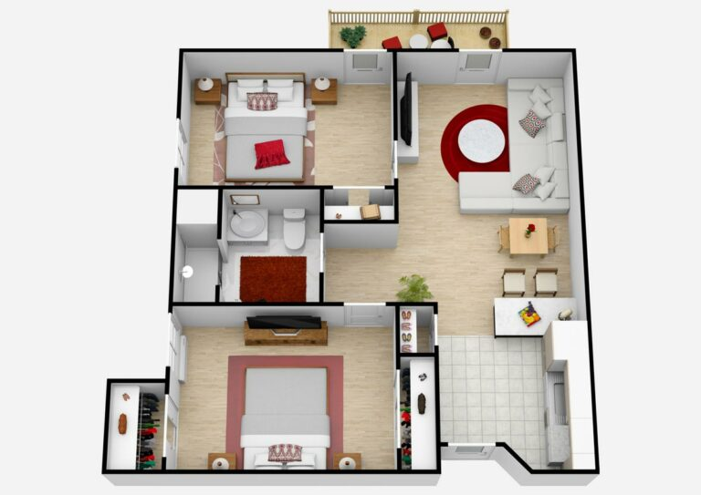The Village at Rancho Solano | Two Bedroom C