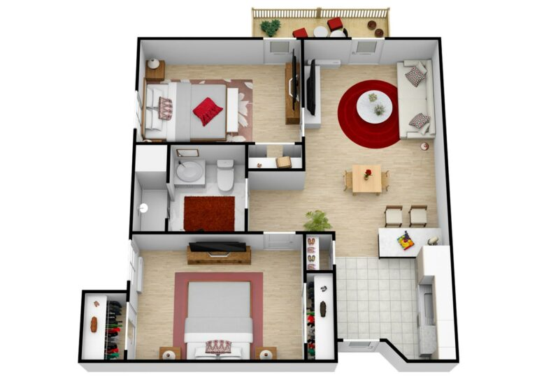 The Village at Rancho Solano | Two Bedroom C2