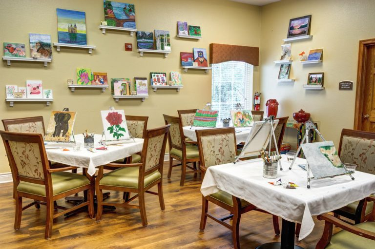 Town Village of Leawood   Craft room