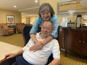 Kathy and Jim at Town Village of Leawood