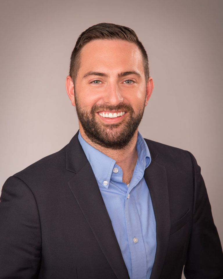 Justin Wray, Pegasus Senior Living Vice President of Sales and Marketing headshot