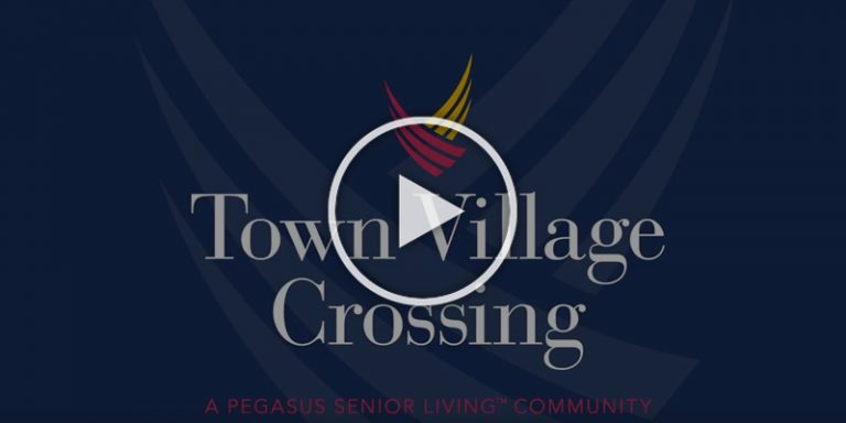 Pegasus Senior Living | Town Village Crossing video