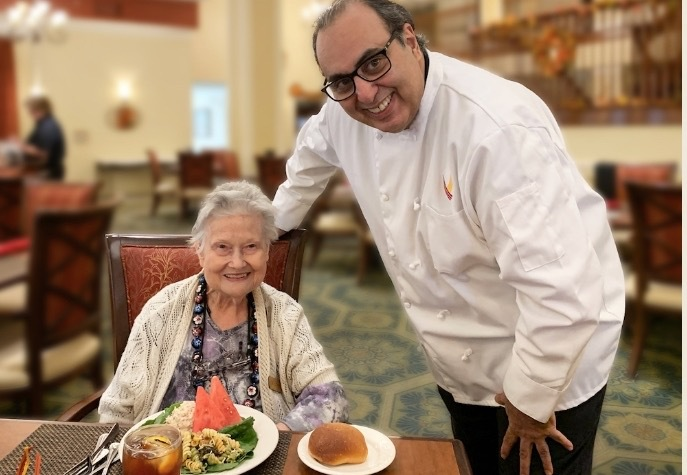 Pegasus Senior Living | Chef Jay at Town Village Crossing in Arlington, TX