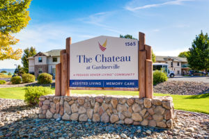 The Chateau at Gardnerville | Outdoor Sign