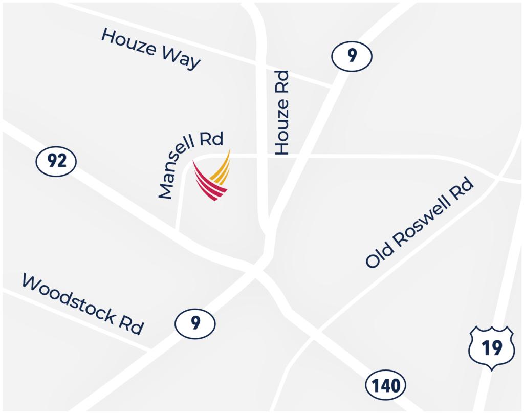 Pegasus Senior Living | Map of Magnolia Place