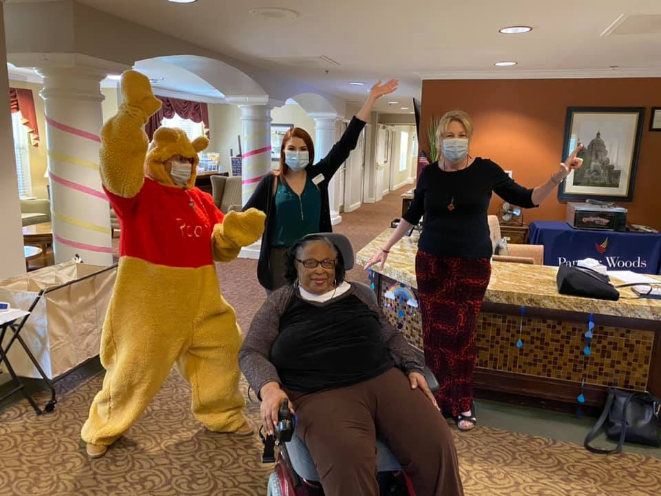 Pegasus Senior Living | Senior with associates