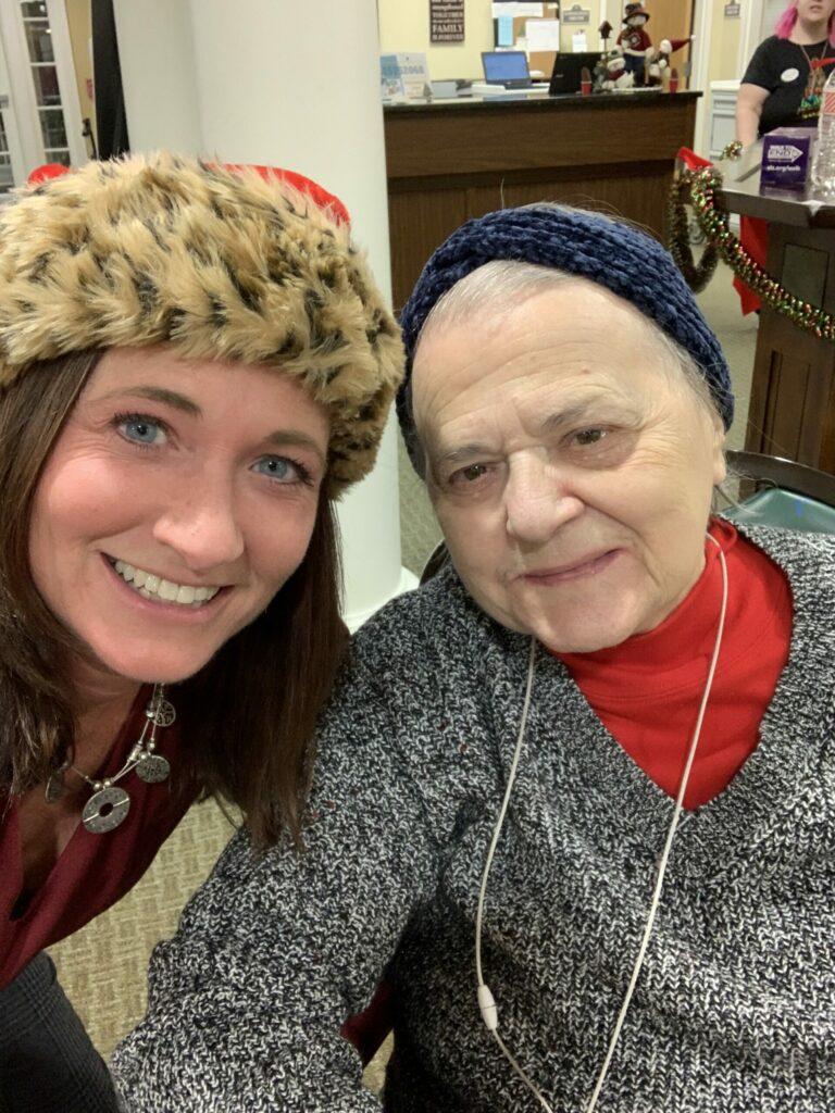 Pegasus Senior Living   Rae with resident