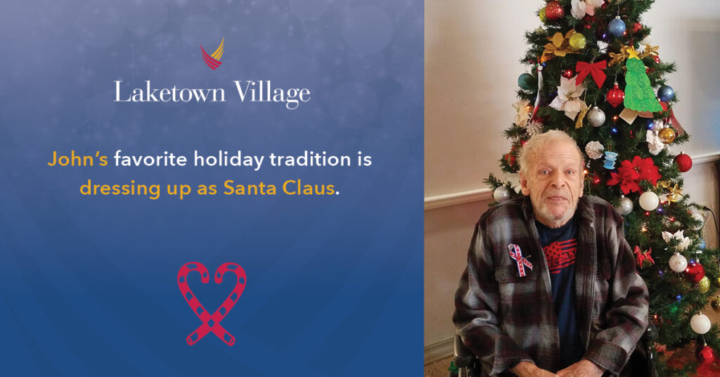 Pegasus Senior Living | John's Holiday Tradition